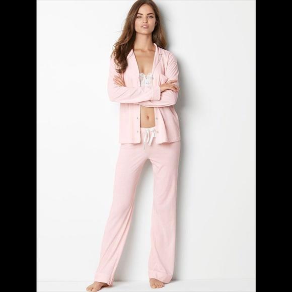 fc23f7a856 Sleepover Knit Sleep Pajama Set Super Soft Small
